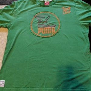 Vintage Puma Track Stars T Shirt